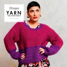 YARN The After Party 122: Cranberry Fizz Jumper by Simy's Studio