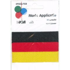Iron-on patches flag Germany - 5pcs