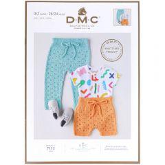 DMC Baby cotton leaflet EN-NL-DE - 1x4pcs