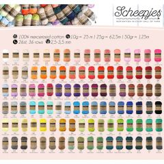 Scheepjes Catona assortment 5x50g - 103 colours - 1pc
