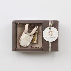 Cohana Seki mini scissors white - Christmas - 1pc