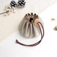 Cohana Himeji leather pouch - 1pc