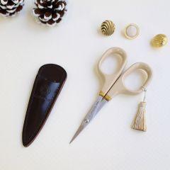 Cohana Scissors gold lacquer art 10.5cm winter gold - 1pc
