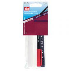 Prym Laundry marking set standard red pen - 5pcs