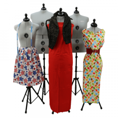 Dressmaking model Laura adjustable - 1pc