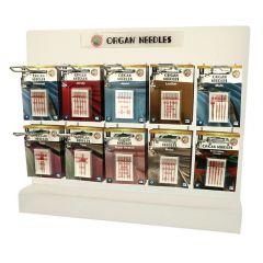 Organ Needles Table display - 5x10 types - 1pc