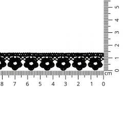 Floral lace trim 15mm - 13.7m