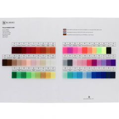 Colour sample card tulle - 1pc