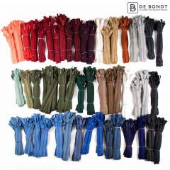 Pants zipper nylon assortment - 50x10pcs