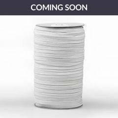 Prym Elastic tape 6.5mm white - 125m