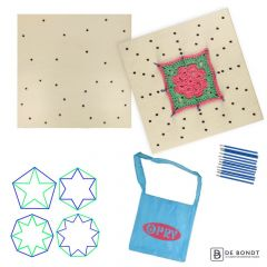Opry Blocking board double-sided - 1pc - 05