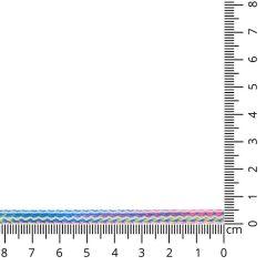 Square cord multicolour 5mm - 25m