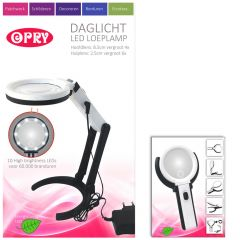 Opry Daylight LED Magnifying Lamp charg. 8,5 cm diam. - 1pc