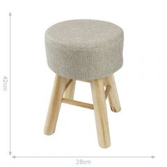 Wooden stool - 6pcs