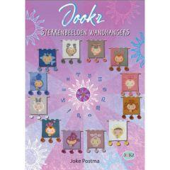 Jookz sterrenbeelden wandhangers - Joke Postma - 1pc