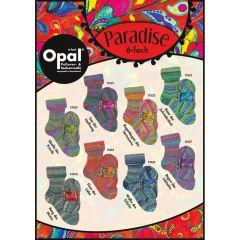 Opal Paradise 6-ply ast. 4x150g - 8 colours - 1pc