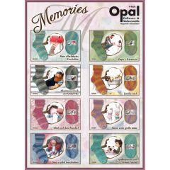 Opal Memories 4-ply ast. 5x100g - 8 colours - 1pc