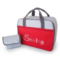 Veritas Sewing machine carrier 41x33x19cm red-grey - 1pc