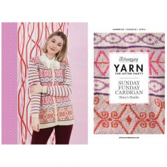 YARN The After Party no.102 Sunday Funday Cardigan - 20pcs