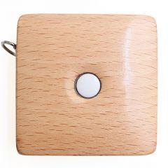 KnitPro Tape measure beech wood - 3pcs