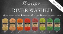 Scheepjes River Washed assortment 5x50g - 8 colours - 1pc