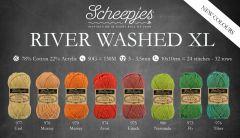 Scheepjes River Washed XL assortment 5x50g - 8 colours - 1pc
