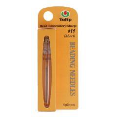 Tulip Beading needles no.10-13 - 3pcs