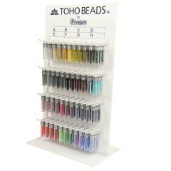 Toho Display glass beads round 8-0 - 3x4g - 44 colours - 1pc