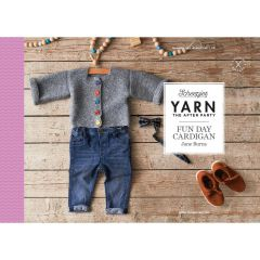 YARN The After Party no.118 Fun Day Cardigan - 20pcs