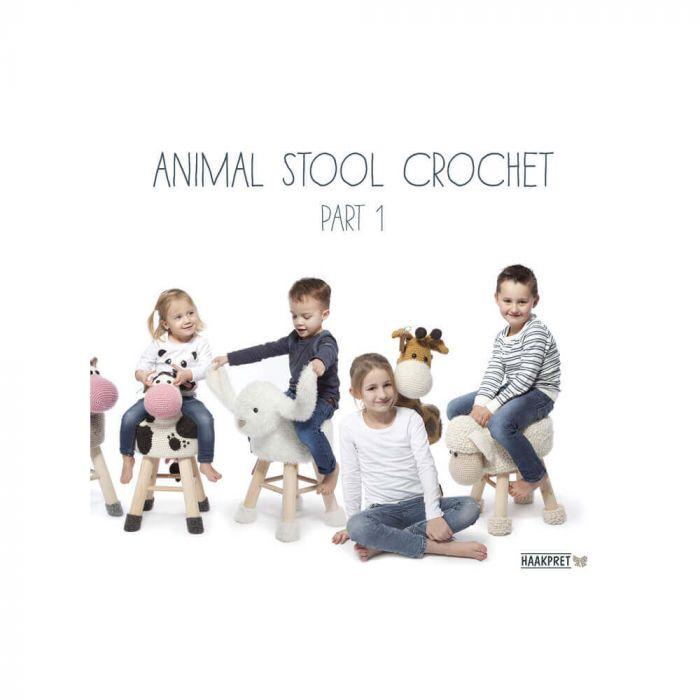 Animal Stool Crochet part 1 - Anja Toonen - 1pc