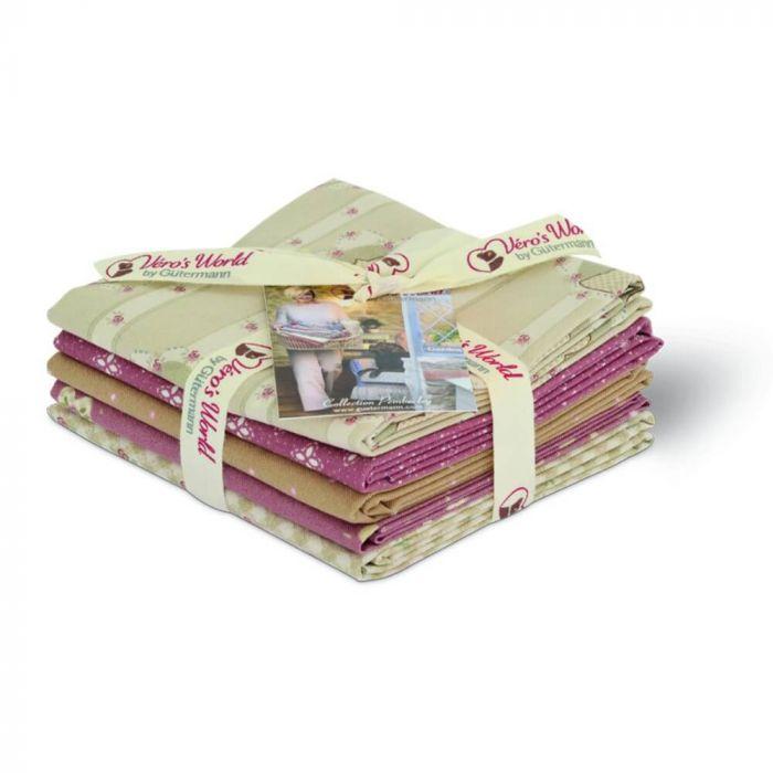 Gutermann Fat Quarter Bundles Ring a Roses 100/% Cotton Fabric Quilting Patchwork