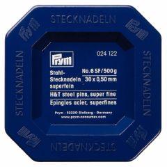 Prym Headpins steel 0.50x30mm silver - 2pcs