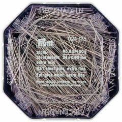 Prym Headpins steel 0.60x34mm silver - 10pcs