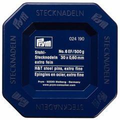 Prym Pins steel 0.60x30mm silver - 2pcs