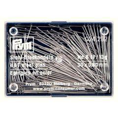 Prym Pins steel 0.60x30mm silver - 10pcs