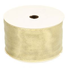 Gold ribbon  - 55mm - 18m - Gold