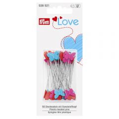 Prym Love plastic head pins 50x0.60mm - 5x50pcs