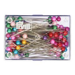 Prym Pearl-headed pins steel 0,58x40mm assortment - 20pcs
