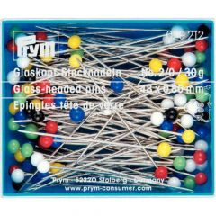 Prym Glass head pins 0.80x48mm silver - 5-10pcs