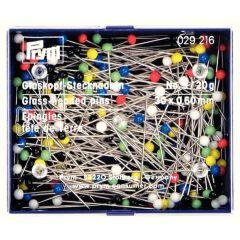 Prym Glass head pins assorted 0.60x30mm silver - 10pcs