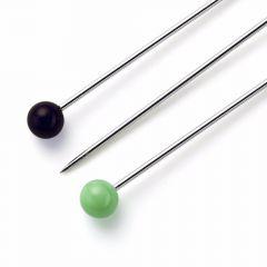 Prym Glass head pins assorted 0.60x30mm silver - 5pcs