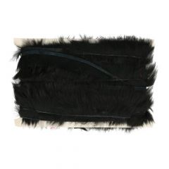Fur with sequins on rim - 9,20m