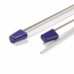 Prym Lace bobbin and stitch holders 13cm purple - 10pcs