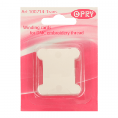 Opry Thread bobbins plastic transparent - 10x20pcs