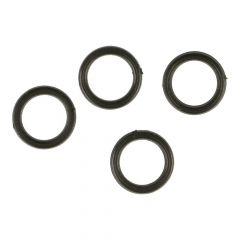Ring plastic 8mm  -  100 pcs