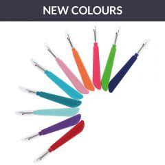 Stitch rippers ergonomic assorted - 2x10 colours - 5pcs