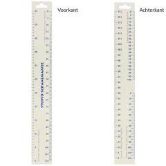 Studio Ruler for pattern making - 20pcs