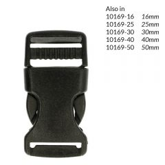 Side-release buckle 20mm - 10pcs