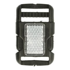 Side-release buckle with reflector 25-40mm - 10pcs