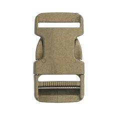 Side-release buckle 30mm metallic bronze - 10pcs